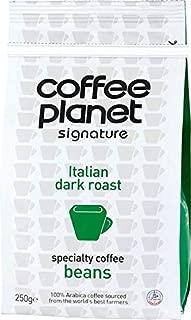 Coffee Planet Signature Italian Dark Roast Coffee Beans - 250 gm