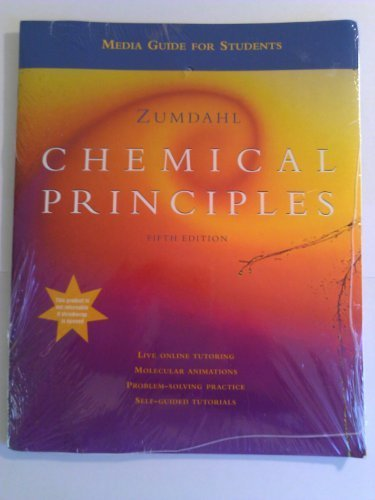 Media Guide with CD-ROM for Zumdahl's Chemical Principles, 5th