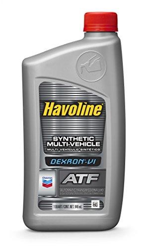 Havoline (226535721-12PK) DEXRON-VI Multi-Vehicle Synthetic Automatic Transmission Fluid - 1 Quart, (Pack of 12)