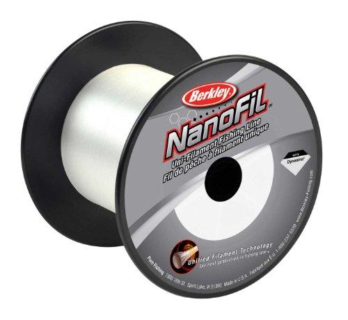 Berkley Nanofil Uni-Filament Angelschnur–1500Yard, Unisex, Clear Mist