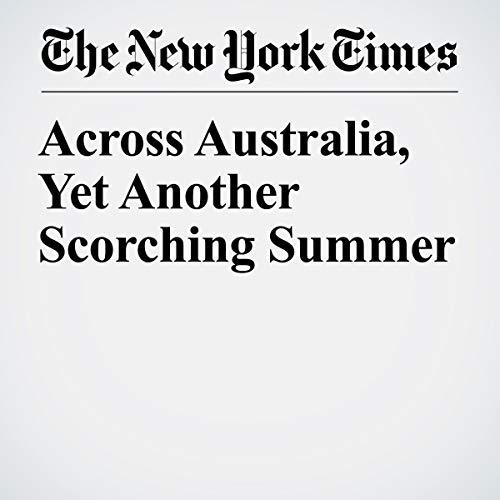 『Across Australia, Yet Another Scorching Summer』のカバーアート