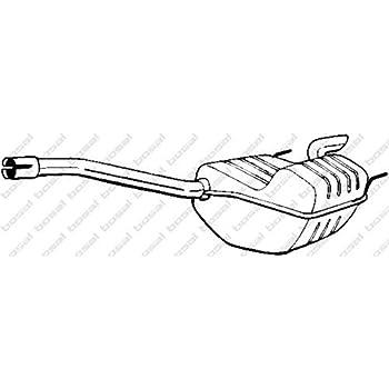 Bosal 175-345 Endschalld/ämpfer