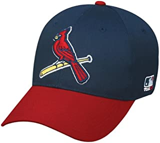 St. Louis Cardinals (Bird Logo) Adult Adjustable Hat MLB Officially Licensed Major League Baseball Replica Ball Cap