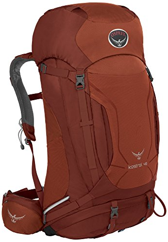 Osprey - Kestrel 48, Color Dragon Red, Talla 48 Liters-M/L