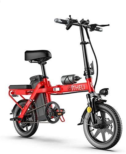 Alta velocidad E-plegable bicicleta de montaña bicicleta eléctrica plegable 350W bicicletas altura ajustable portátil 3 Modo de Pantalla LCD bicicleta eléctrica for adultos y adolescentes, for los dep