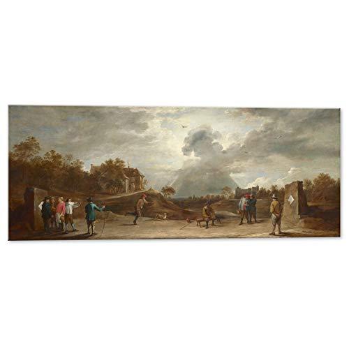 Kuader Bauer Schießbogen David Teniers -100 x 40 cm