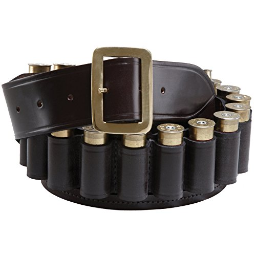 Buy Bargain Croots Cartridge Belt 20G Large Malton Bridle Leather Brown