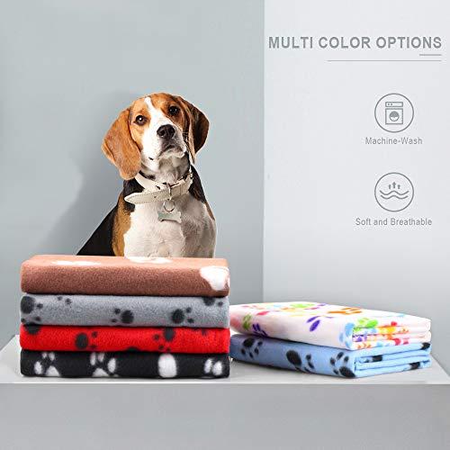 Product Image 2: Comsmart Warm Paw Print Blanket