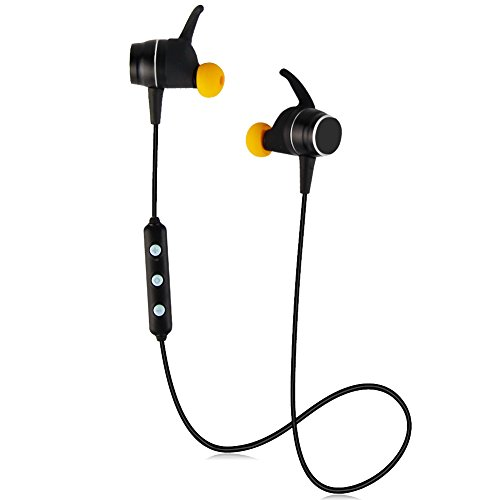 BEACON PET Bluetooth 4.2 Lightweight Stereo Earbuds with Magnetic Connection, Best Wireless Sports Stereo Sweatproof Headset for Nano Coating Sweatproof Sports Earphone Perfect for Sports/Running