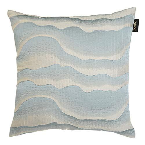 Fodera per Cuscino Decorativo Federa Quadrata Decorativa per Divano Letto 50X50Cm (Escluso Cuscino) Azzurro