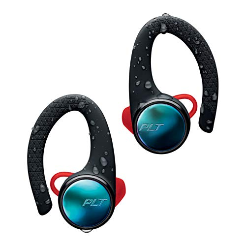 Plantronics BackBeat Fit 3100 Bluetooth-Sport Cuffie / Auricolari, In-Ear, IP57, Con Custodia di Ricarica, Nero, Uni