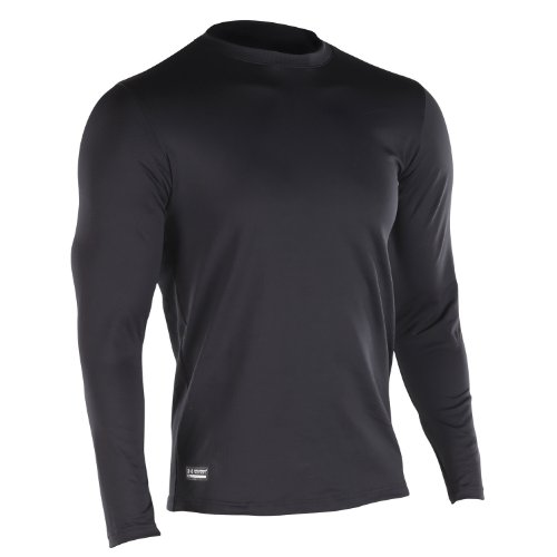 Under Armour ColdGear Maillot de Corps ajusté Tactique Col en V Noir Noir Small