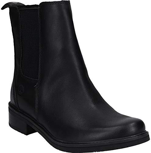 Timberland Damen Mont Chevalier Chukka Boots, Schwarz (Jet Black Eurovintage 15), 41.5 EU