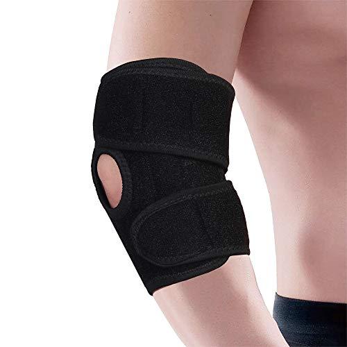 Coderas Ajustable Codo Soporte Transpirable Neopreno Soporte Vendaje Alivio Dolor Artritíco Rehabilitación y Deportivas Protección
