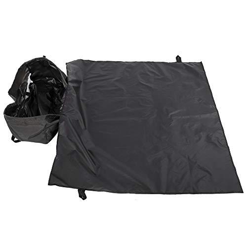 MAGT Kletterseil-Tasche, Climbing Gear Bag for Bergsteigen Eisklettern Oxford Rucksack mit Seil-Matte for Outdoor-Camping-Wandern (Farbe : Black)