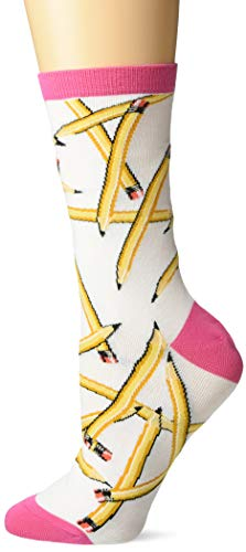 Lápiz Blanco Laser  marca K. Bell Socks