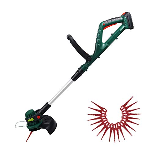 Fantastic Deal! LISA Cordless Grass Trimmer with 20V Battery, Charger & 20 x Plastic Blades Included...