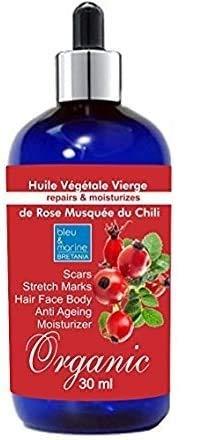 Aceite de Rosa Mosqueta Rejuvenecedor ECOLÓGICO 30 ml● Reduce las líneas finas...