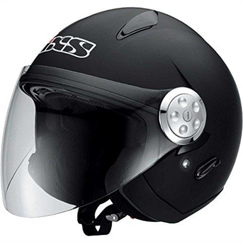 IXS HX 137 - Jethelm, Farbe schwarz-matt, Größe M (57/58)