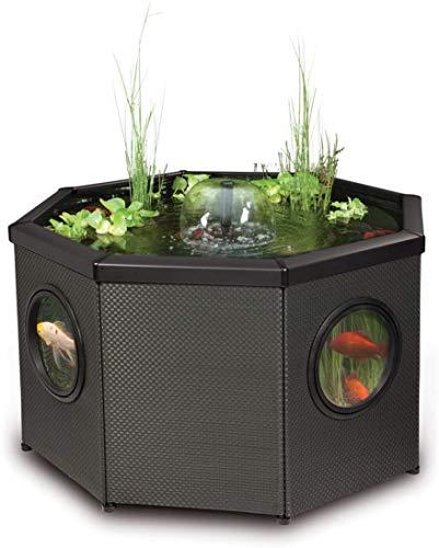 Pennington Aquagarden, Complete Raised Window Pond Kit - Octagon,...