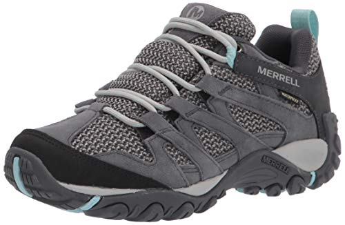 Merrell womens Alverstone Waterproof Hiking Shoe, Storm, 9.5 US