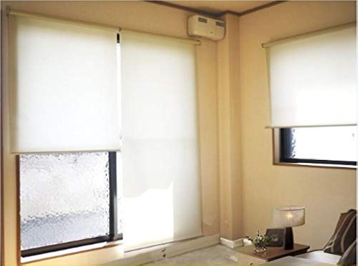 光ストライプソフトウェアZen プレーン ロールスクリーン 透過性生地 癒しの明るさ 既成品サイズ 4サイズ 4カラー 幅60cm×丈180cm ベージュ色