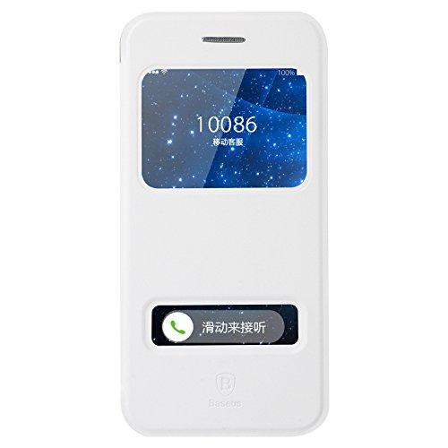 Baseus Custodia Pure View Case Per Apple iPhone 6 4,7 & 6s ', Colore: Bianco