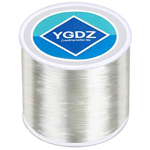 1mm Bracelet String, YGDZ Elastic String Stretchy Bracelet Bead String for Bracelets Jewelry Making, 1 Roll 100m (1.0mm)