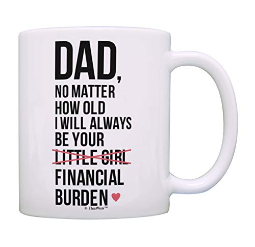 I Will Always Be Your Financial Burden Funny Mug Cup