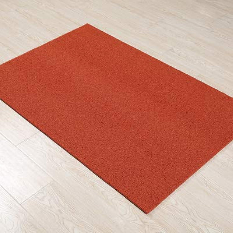 Doormat,Entrance Doormat Front Door Mat Anti-skidding Easy to Clean Home Decor-red 60x90cm(24x35inch)