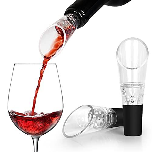 Aibrisk Wine Aerator Pourer 2-Pack, Decanter Premium Aerating Spout