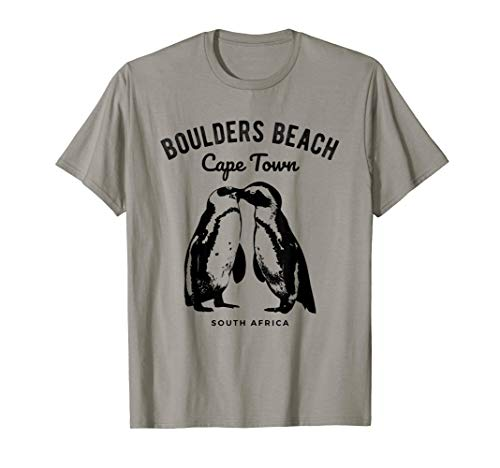 Cape Town South Africa Boulders Beach Penguin T-Shirt