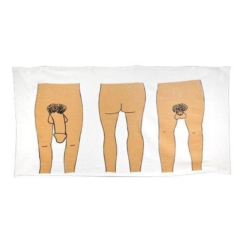 DDFRE - Asciugamano da spiaggia in velluto divertente da uomo, 100% cotone, 1 pezzo, 76 x 178 cm