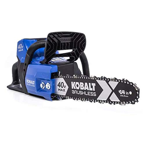 Kobalt 40-Volt 40v Lithium Ion Bare Tool 14-in Cordless Electric Brushless Chainsaw (Battery and Charger Not Included)