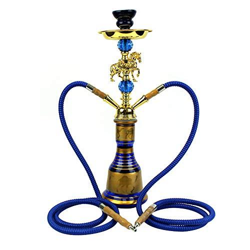 Mr. Long 2 Hose 60cm Shisha Hookah Water Pipe al Glass Father Big Hooka Flavour,B