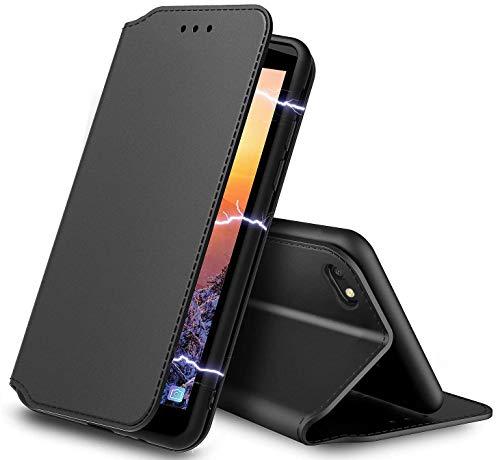 AURSTOR Etui Coque pour Iphone Se 2020,Iphone 8,Coque Iphone 7,Protection Housse en Cuir PU Portefeuille,[Ranges Cartes],[Fermeture Magnétique] pour...