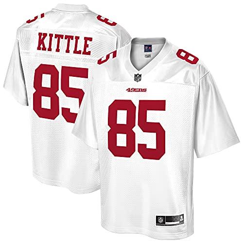 NFL PRO LINE Men's George Kittle White San Francisco 49ers Player Jersey