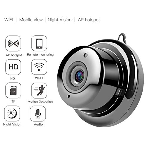 Überwachungskamera Full HD 720P IP WiFi Nachtsicht Autom, Heimtierkameras Mit 2-Wege-Audio/Bewegungserkennung/Nachtsicht/Fernalarm Für Katzen Hunde Haustierkamera Auch Für Baby XTM324