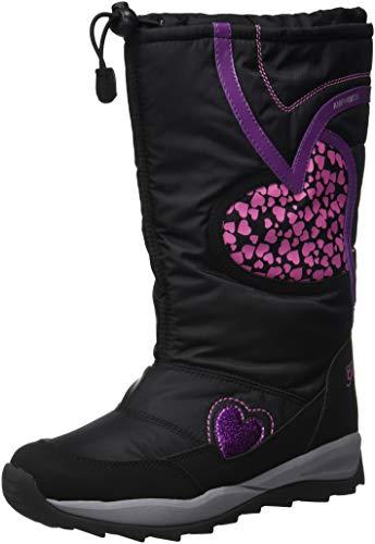 Geox J Orizont B Girl ABX, Botas de Nieve Niñas, (Black C9999), 24 EU