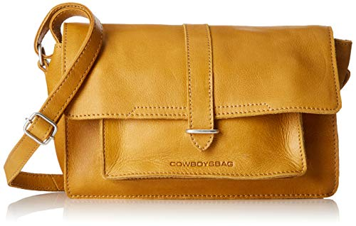 Cowboysbag Damen Bag Cheswold Clutch, Gelb (Amber), 3x3x3 cm