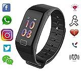 SHOPTOSHOP Smart Band Waterproof Fitness Activity Tracker Bluetooth Smart Band Pedometer Watch Wristb
