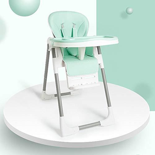 Xiao Jian- Baby kinderstoel - metaal + PU zitkussen, 6 maanden - 4 jaar oude baby multifunctionele multi-speed aanpassing gratis installatie inklapbare draagbare vuile veiligheid baby eten stoel kruk - 6 c