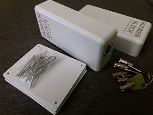 PRECIO 159,72 € : 2 Cerraduras Candados + Placas Refuerzo Puertas Furgonetas (BUNKER BLOCK Mod. Manual MN20) MADE IN SPAIN - LEER LA DESCRIPCION DEL PRODUCTO - Envio en 48 h