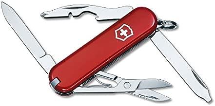 Victorinox Swiss Army Rambler Pocket Knife, Red