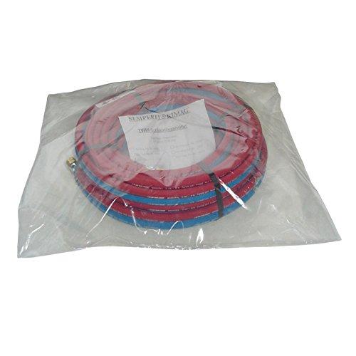 SEMPERIT Zwillingsschlauch Komplettset Acetylen 9x3,5mm Sauerstoff 6x5,0mm 10m
