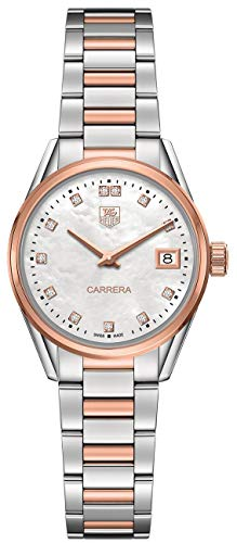 Tag Heuer Carrera Q PrÃcieux WAR1352BD0774 - Reloj de pulsera para mujer