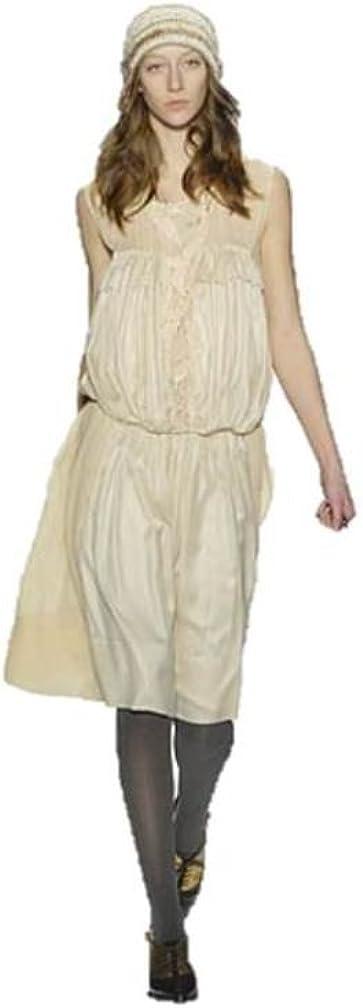 BCBG Women's Runway Pleated Dress, Misty Rose, S