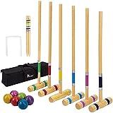Best Antique Croquet Sets - Pointyard Six Player Croquet Set, 28'' Croquet Set Review