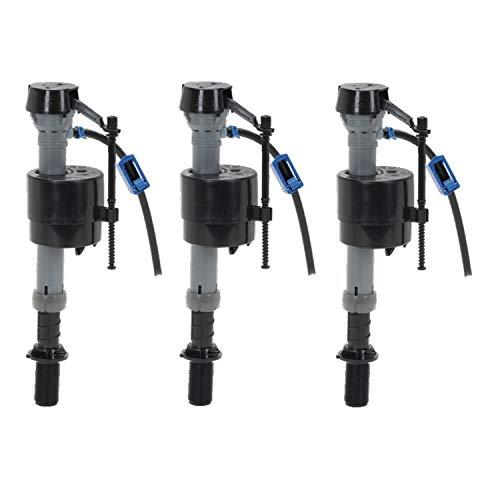 Fluidmaster 400A133 Premium Filling Valve Universal High Performance Toilet Fill Valve - 3 Pack