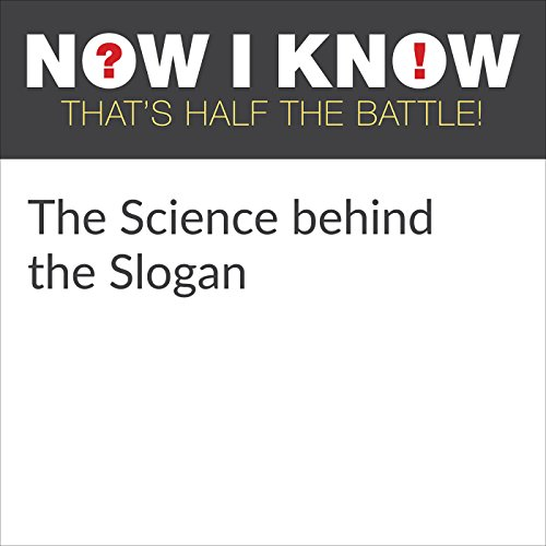 The Science Behind the Slogan audiobook cover art